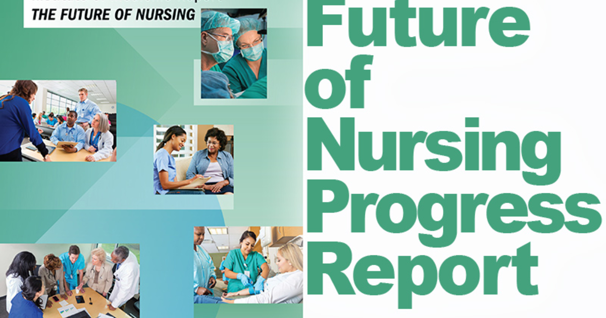 future of nursing The iom recommends boosting the proportion of us nurses holding at least a bachelor's degree from 50% to 80% by 2020 with many nurses reaching retirement age even as demand for advanced-practice nurses expands, nursing-education patterns must change.