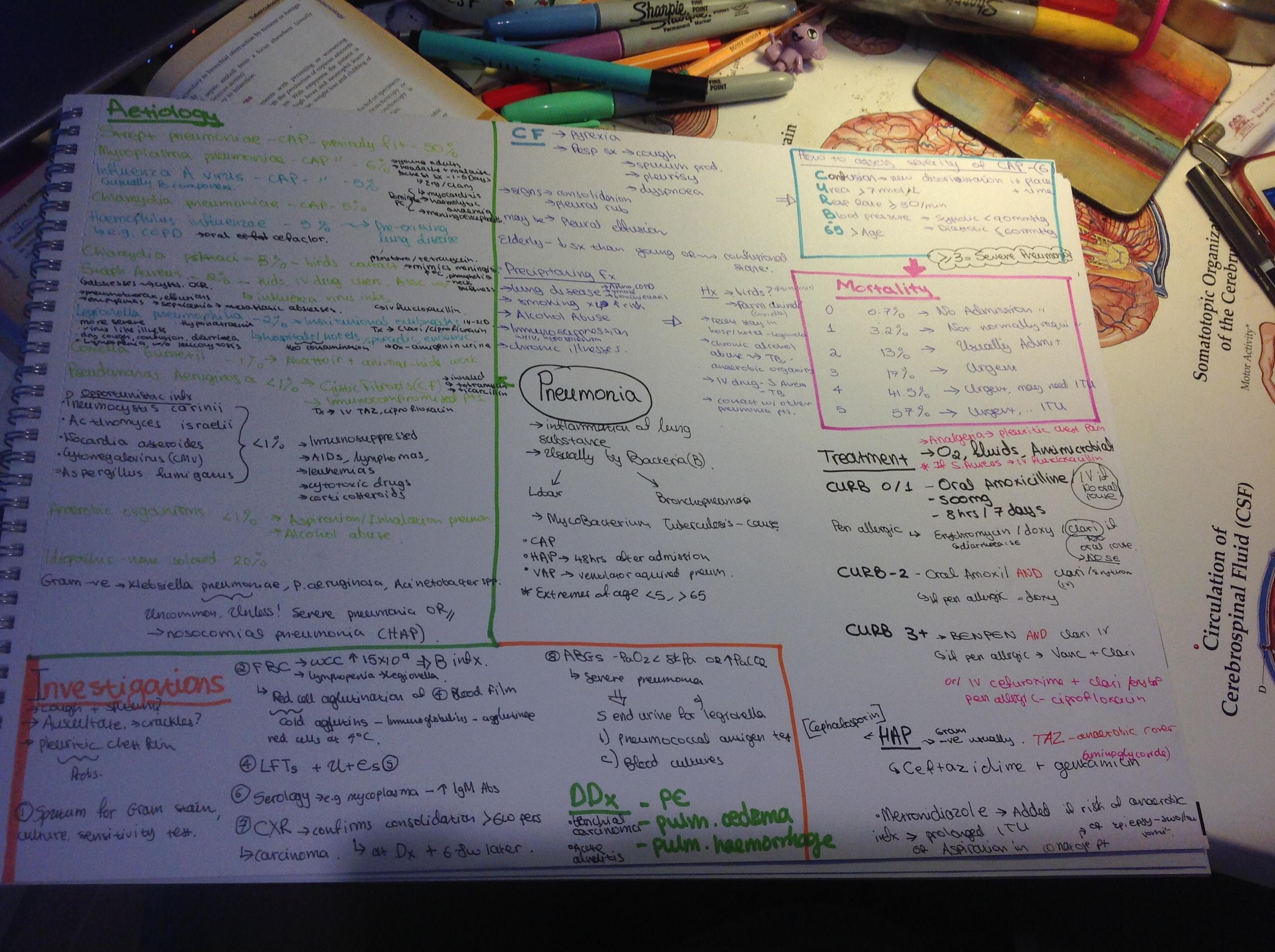 Pneumonia notes