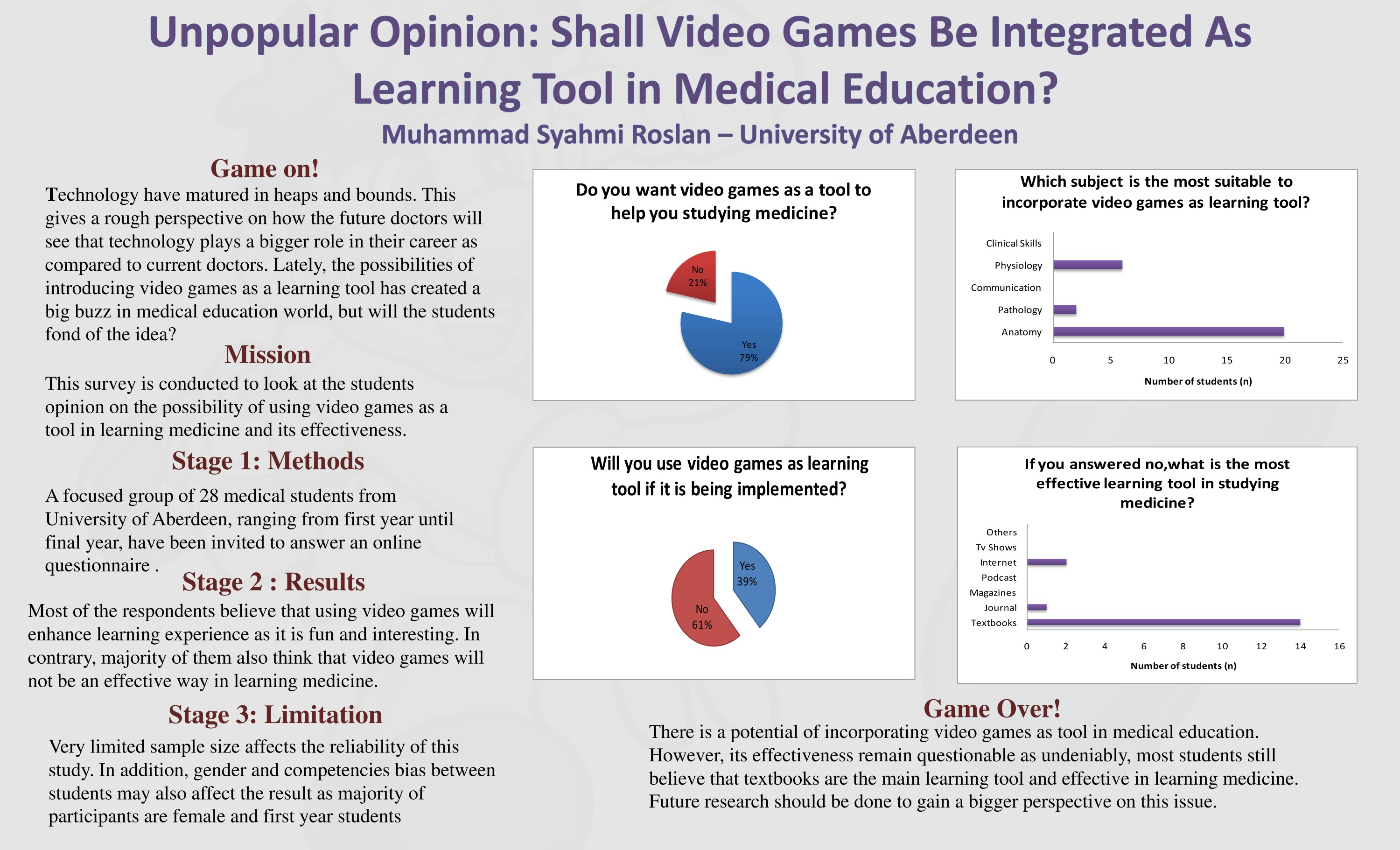 Should video games be incorporated into medical education?